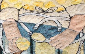 Fulcreme – A Pokey Hat (detail; materials: linen, cotton, wool; size: 70x42cm)