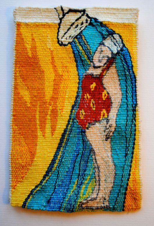 Soo Good! miniature tapestry